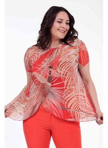 Vitrin XL Bluz Kırmızı